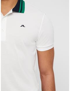Mens Patrick Cool Pique Polo White