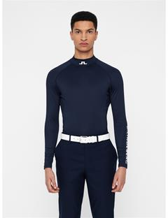 Mens Aello Compression Top JL Navy