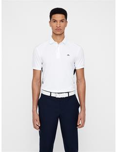 Mens Dario TX Jersey+ Polo White