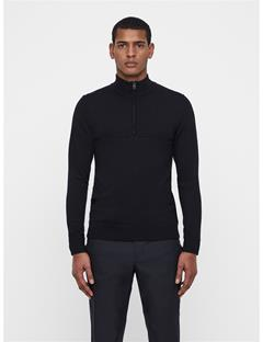 Mens Erik Tour Merino Sweater Black