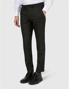 Mens Grant Star Wool Trousers Dk Olive