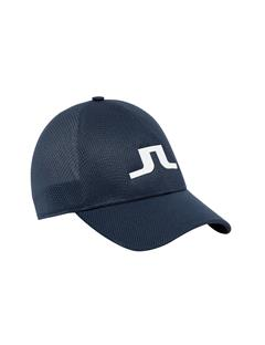 Mens Ace Mesh Seamless Cap JL Navy