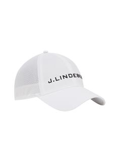 Mens Ace Mesh Seamless Cap White