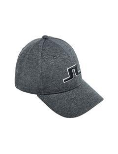 Mens Sweat Tech Jersey Cap Dk Grey Melange