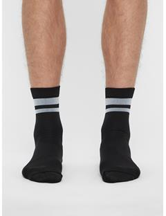 Mens Golf Dry Yarn Sock Black
