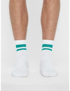 Mens Golf Dry Yarn Sock Golf Green