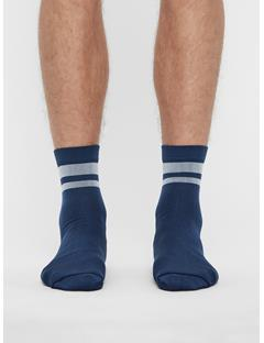 Mens Golf Dry Yarn Sock JL Navy