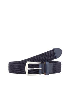 Mens Hatcher Elastic Triple Belt JL Navy