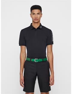 Mens Caspian Elastic Braid Belt Golf Green