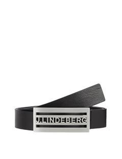 Mens Dane Pro Leather Belt Black