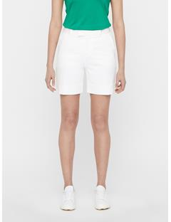 Womens Gilda Long Shorts White