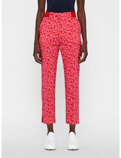 Womens Gio Pants Pop Pink Flower Print