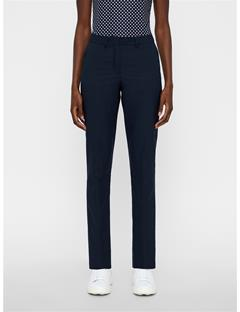 Womens Kaia Jaquard Pants JL Navy