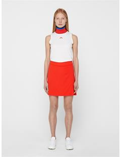 Womens Amelie Long TX Jersey Skirt Racing Red