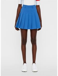 Womens Adina Skirt Work Blue