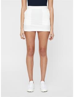 Womens Silvia High Vent Skirt White
