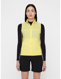 Womens Lilly Trusty Vest Butter Yellow