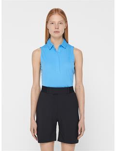 Womens Dena TX Jersey Polo Ocean Blue
