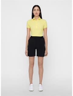 Womens Tour Tech TX Jersey Polo Butter Yellow