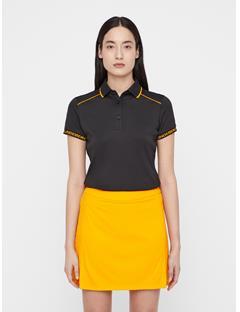 Womens Luca TX Coolmax Polo Black
