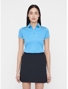 Womens Luca TX Coolmax Polo Ocean Blue