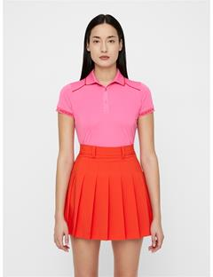 Womens Luca TX Coolmax Polo Pop Pink