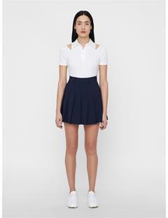 Womens Andrea TX Jersey Polo White