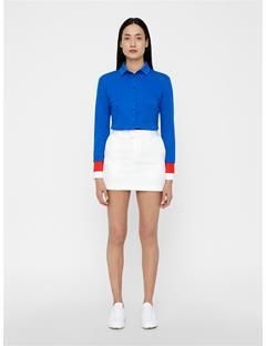Womens Belen Cotton-Poly Knit Pop Blue