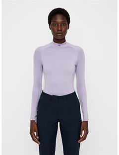 Womens Asa Compression Top Garden Lavender