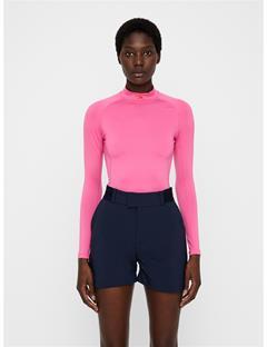 Womens Asa Compression Top Pop Pink