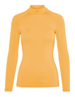 Womens Asa Compression Top Warm Orange