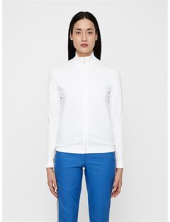 Womens Gamon Seamless Midlayer White