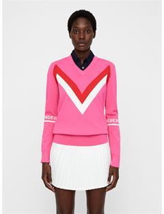 Womens Celine Sweater Pop Pink