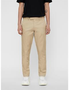 Mens Grant Travel Cotton Pants White Pepper