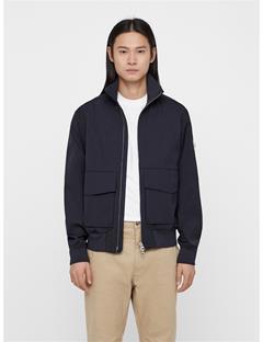 Mens Chain Travel Tech Jacket JL Navy