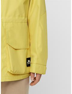 Mens Hook Coated Canvas Coat Butter Yellow