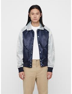 Mens Marc Embo Satin Jacket JL Navy