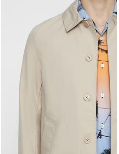 Mens Carter Sharp Cotton Carcoat Desert Dunes