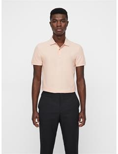 Mens Troy Clean Pique Polo Summer Beige