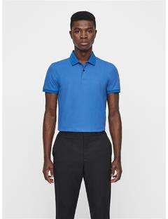 Mens Troy Clean Pique Polo Work Blue