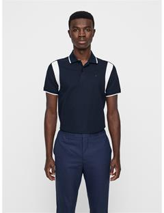 Mens Cleeve Clean Pique Polo JL Navy