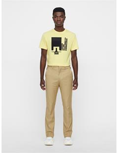 Mens Dale Distinct Cotton Tee Butter Yellow