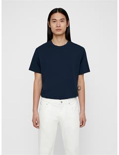Mens Dale Distinct Cotton Tee JL Navy