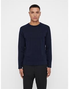 Mens Niklas Crewneck Sweater JL Navy