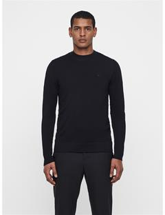 Mens Newman Crewneck Sweater Black