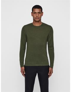 Mens Newman Crewneck Sweater Ivy Green