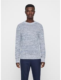 Mens Devin 2-Tone Sweater Work Blue