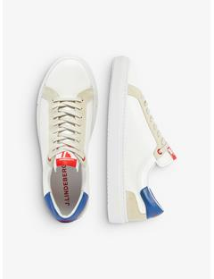 Mens Suede-Leather Sneakers Work Blue