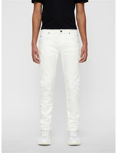 Mens Jay Solid Stretch Jeans Cloud Dancer