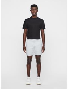 Mens Nathan Super Satin Shorts Stone Grey